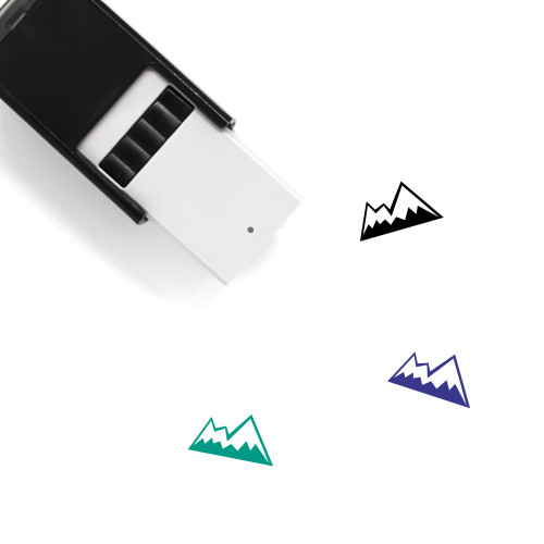 Mountain Self-Inking Rubber Stamp No. 193