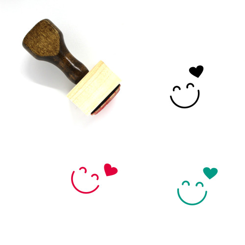 Love Wooden Rubber Stamp No. 694