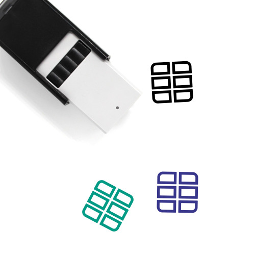 Cargo Self-Inking Rubber Stamp No. 75
