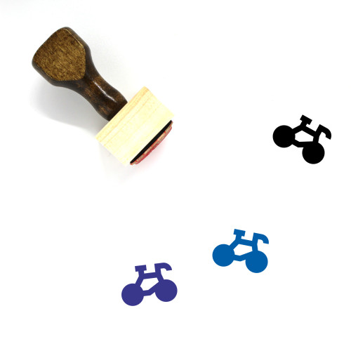 Sports Wooden Rubber Stamp No. 172