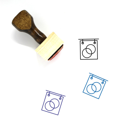 Marriage Celebrant Wooden Rubber Stamp No. 1