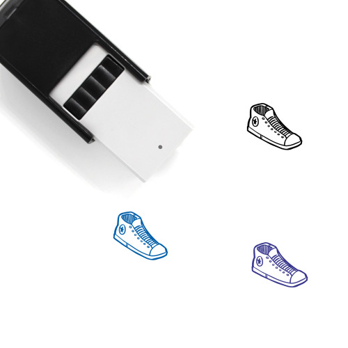 Sneaker Self-Inking Rubber Stamp No. 95