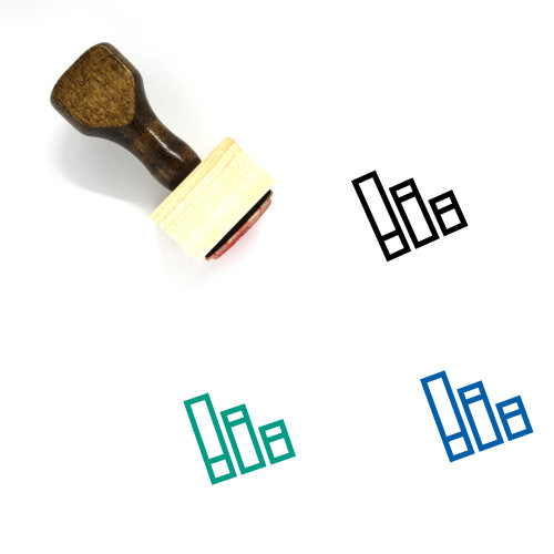 Data Wooden Rubber Stamp No. 94