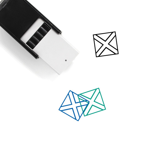 Jamaica Self-Inking Rubber Stamp No. 3
