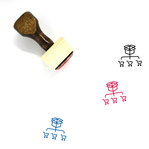 Shipping Wooden Rubber Stamp No. 36