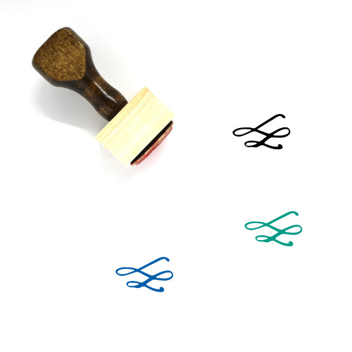 Decoration Wooden Rubber Stamp No. 322