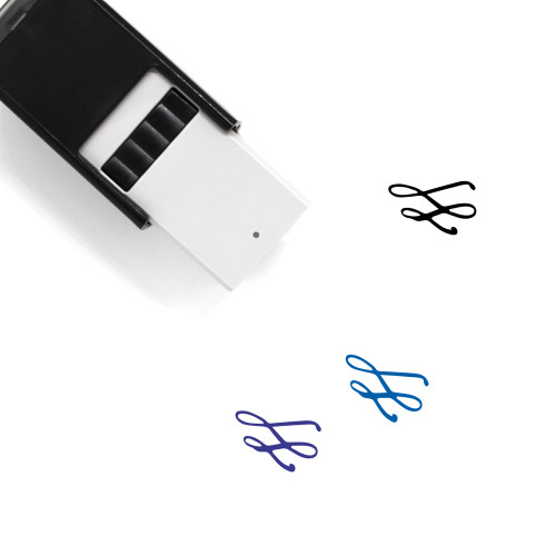 Decoration Self-Inking Rubber Stamp No. 322