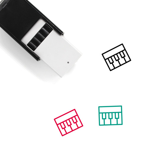 Organ Self-Inking Rubber Stamp No. 13