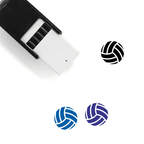 Volleyball Self-Inking Rubber Stamp No. 50