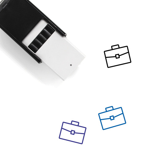 Briefcase Self-Inking Rubber Stamp No. 166