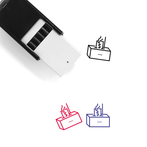Corruption Self-Inking Rubber Stamp No. 23