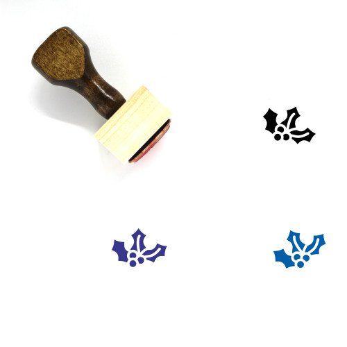 Berry Wooden Rubber Stamp No. 46