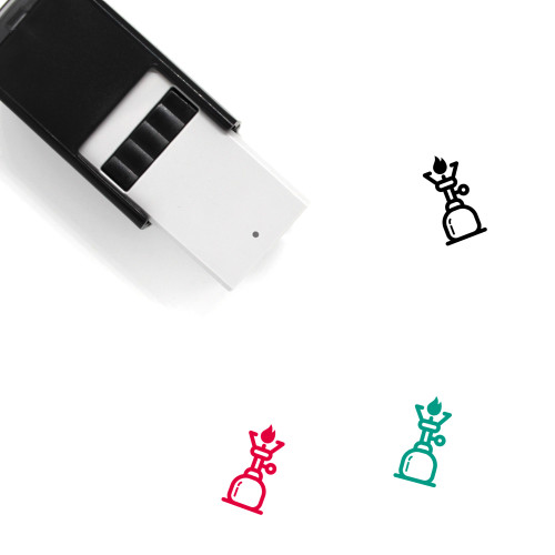 Gas Burner Self-Inking Rubber Stamp No. 12