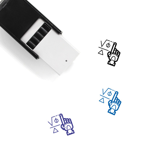 Machine Learning Self-Inking Rubber Stamp No. 41