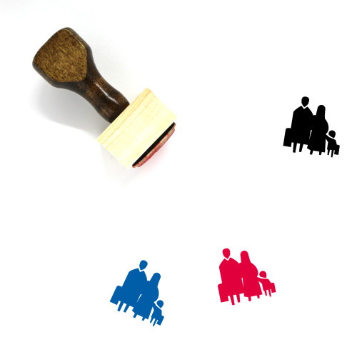 Immigration Wooden Rubber Stamp No. 9