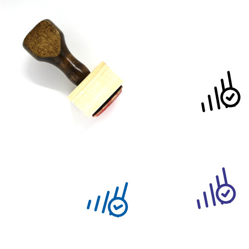 Signal Wooden Rubber Stamp No. 80