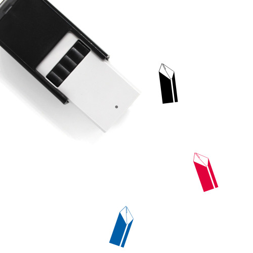 Crain Building Self-Inking Rubber Stamp No. 1