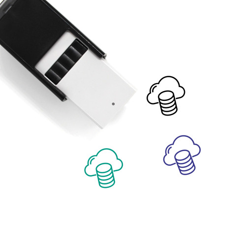 Server Cloud Self-Inking Rubber Stamp No. 6