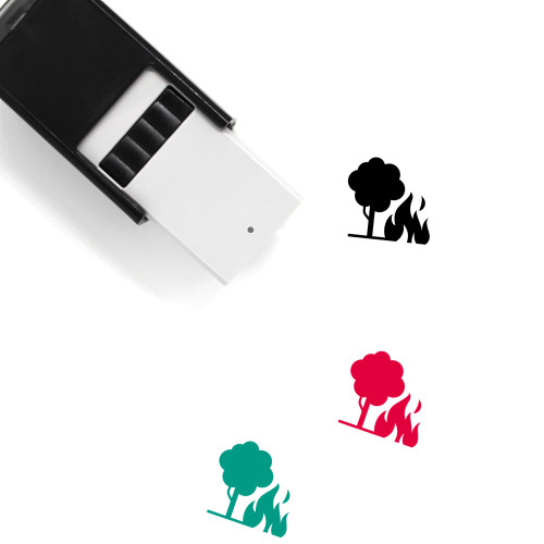 Wildfire Self-Inking Rubber Stamp No. 16