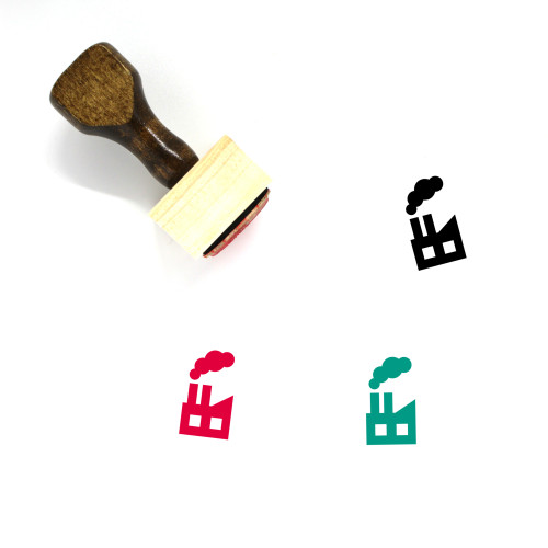 Factory Wooden Rubber Stamp No. 138