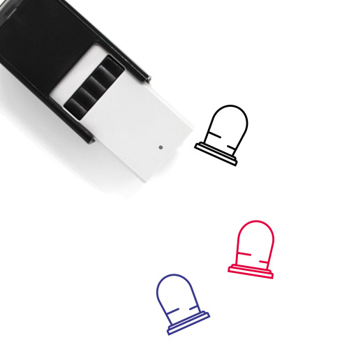 Grave Self-Inking Rubber Stamp No. 85