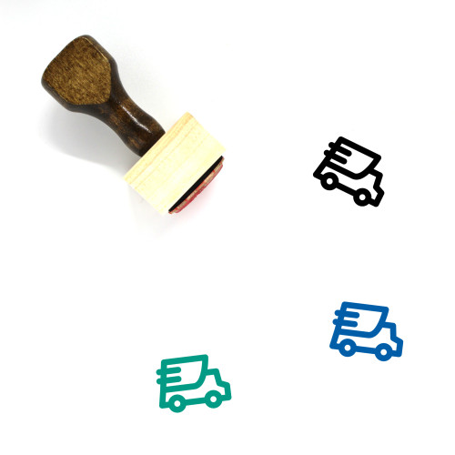 Fast Delivery Wooden Rubber Stamp No. 36