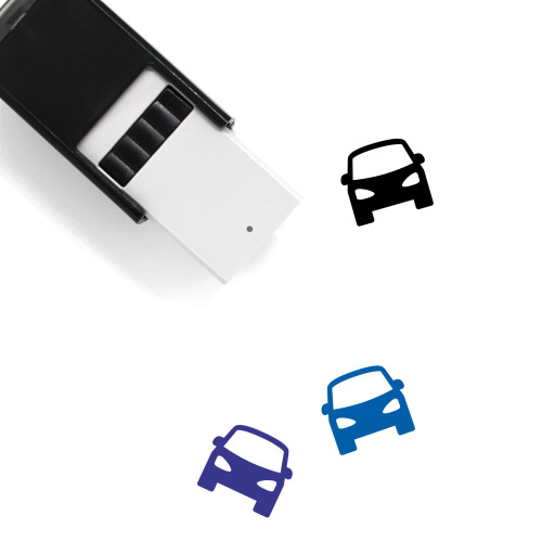 Car Self-Inking Rubber Stamp No. 457