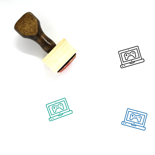 Game Wooden Rubber Stamp No. 319