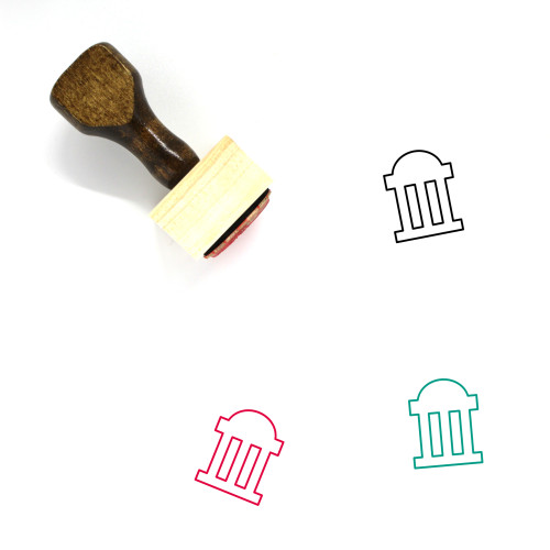 Government Wooden Rubber Stamp No. 131