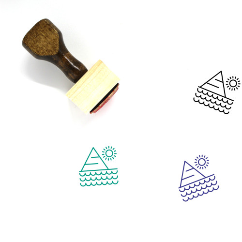 Egypt Wooden Rubber Stamp No. 17