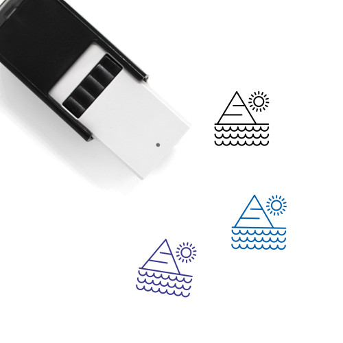 Egypt Self-Inking Rubber Stamp No. 17