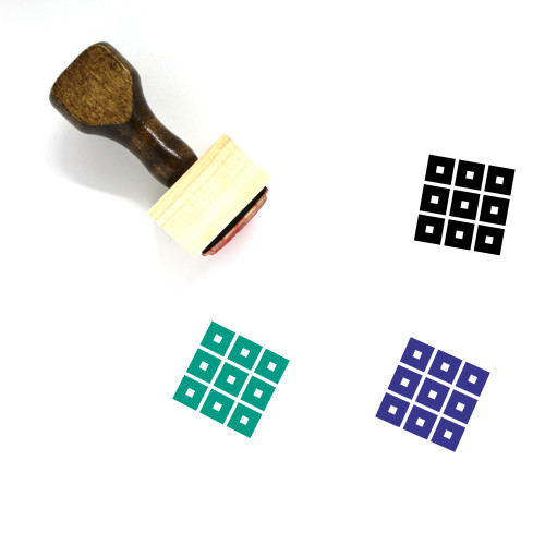 Thumbnails Wooden Rubber Stamp No. 1