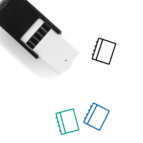 Notebook Self-Inking Rubber Stamp No. 107