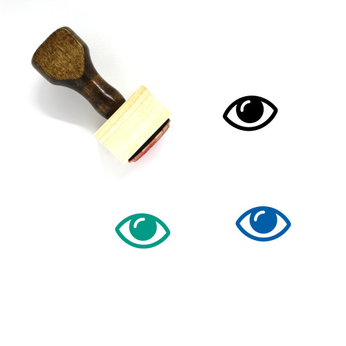 Eye Wooden Rubber Stamp No. 493