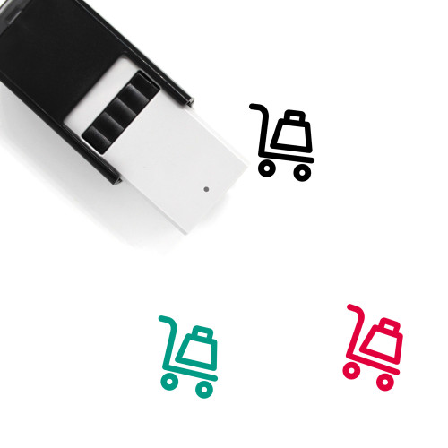 Hand Truck Self-Inking Rubber Stamp No. 54