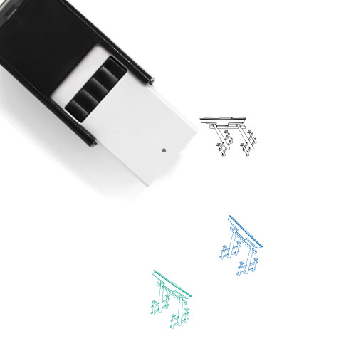 Torii Self-Inking Rubber Stamp No. 38