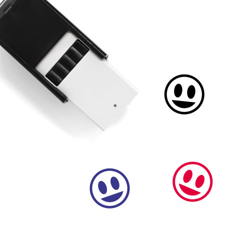 Grin Self-Inking Rubber Stamp No. 51