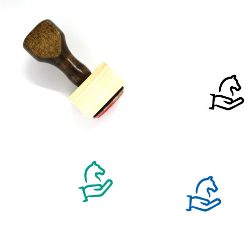 Business Strategy Wooden Rubber Stamp No. 7