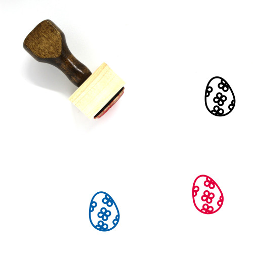 Decoration Wooden Rubber Stamp No. 324
