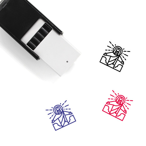 Jesus Self-Inking Rubber Stamp No. 46