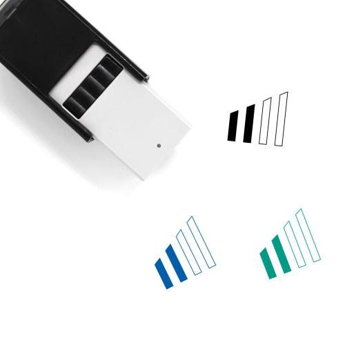 Phone Signal Self-Inking Rubber Stamp No. 20