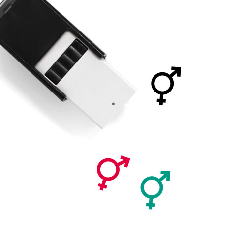 Bisexual Clean Self-Inking Rubber Stamp No. 1