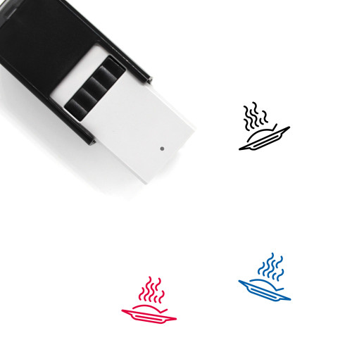 Meal Self-Inking Rubber Stamp No. 38