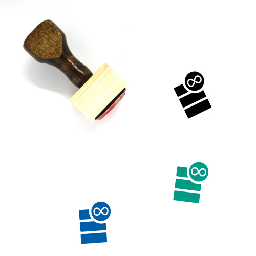 Database Wooden Rubber Stamp No. 47