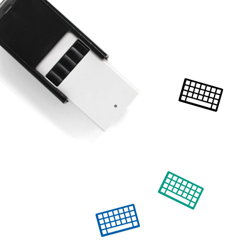 Keyboard Self-Inking Rubber Stamp No. 36