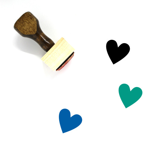 Love Wooden Rubber Stamp No. 698