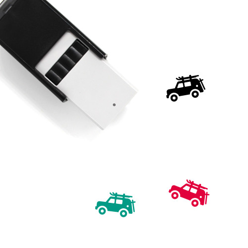 Car Self-Inking Rubber Stamp No. 53