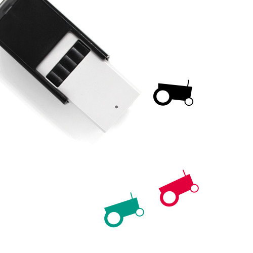 Tractor Self-Inking Rubber Stamp No. 103