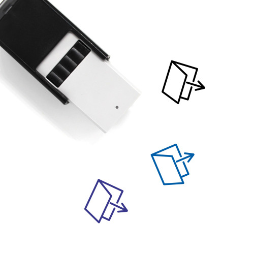 Exit Self-Inking Rubber Stamp No. 75