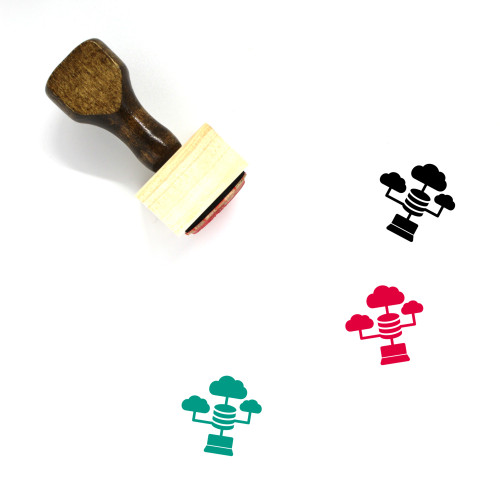 Aggregation Wooden Rubber Stamp No. 2